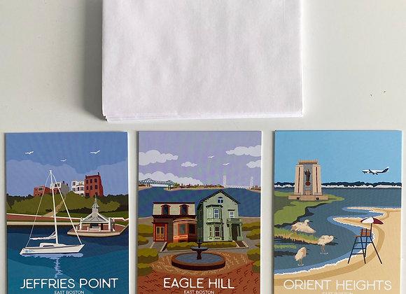Eastie Illustrated Card Set