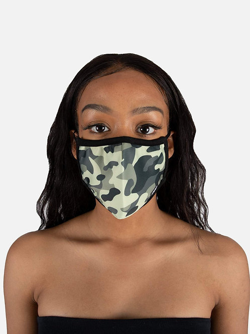 Face Mask - Jungle Camo Mask