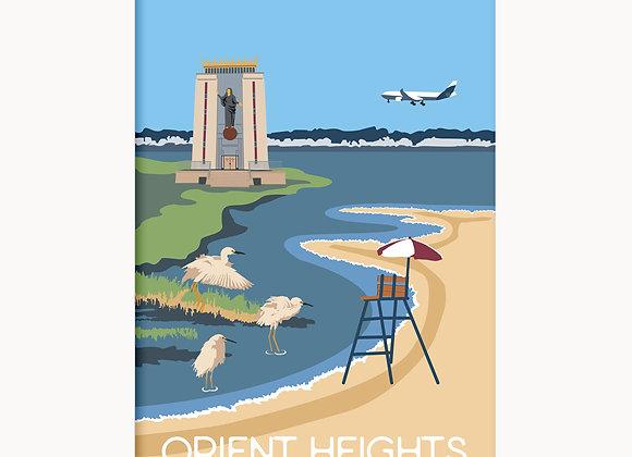 """EastieLove Orient Heights Poster 11""""X17"""""""
