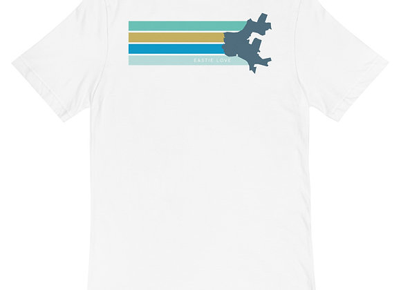 Eastiechusetts Unisex Pocket T-Shirt- Two sided Print