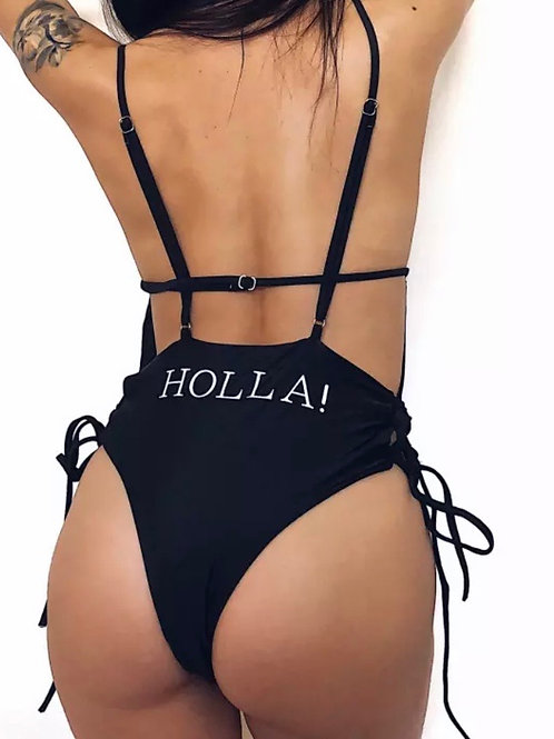 One-Piece Holla! Ja Line Swimwear