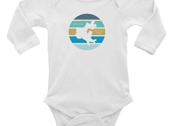 Eastielove Infant Long Sleeve Bodysuit