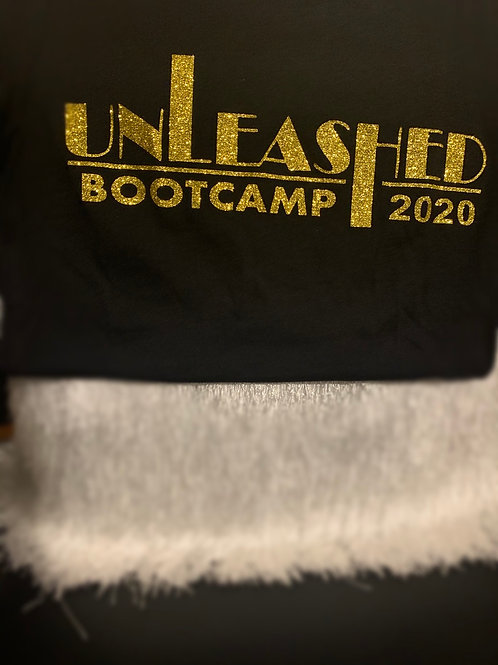 Unleashed BootCamp Tee (Gold) 2020