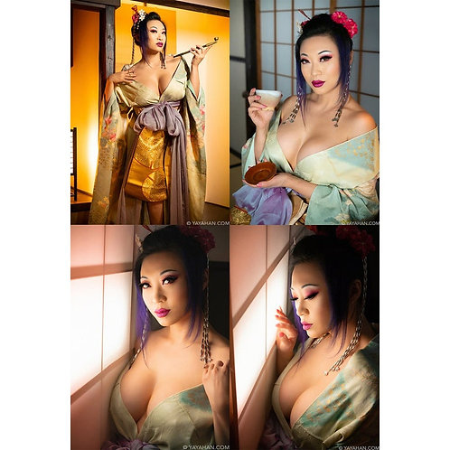 Signed Posters/Prints - Machiya 4 Image Set