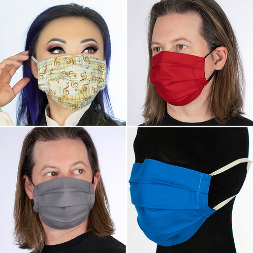 CLEARANCE Face Mask - Washable, Two Layers, Filter Pocket