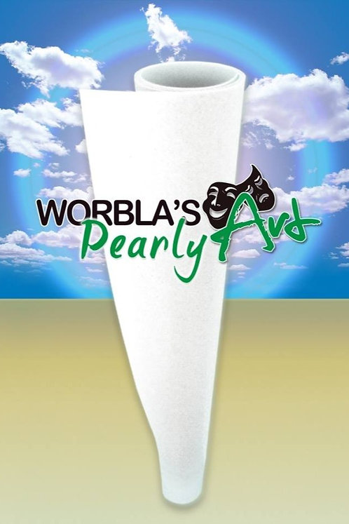 Worbla's Pearly Art (White Thermoplastic)
