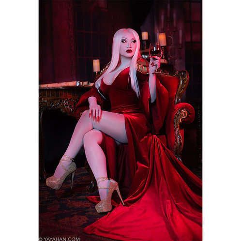 Signed Poster/Print - The Red Chair
