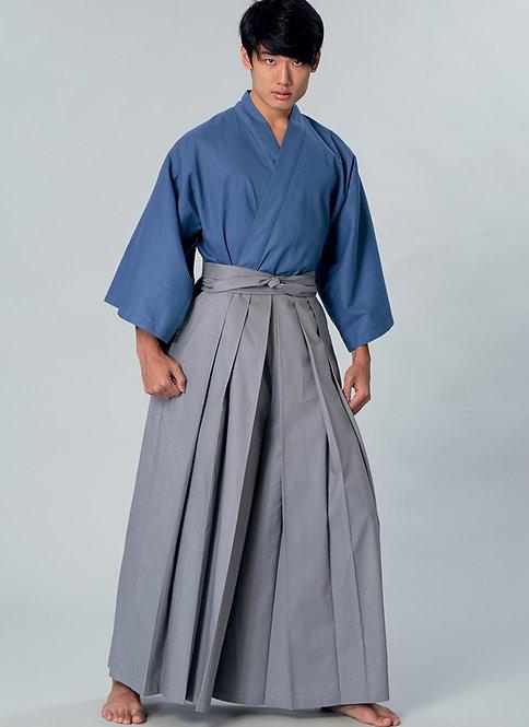 Kimono Top & Hakama Pants Pattern by Yaya Han (Autographed)