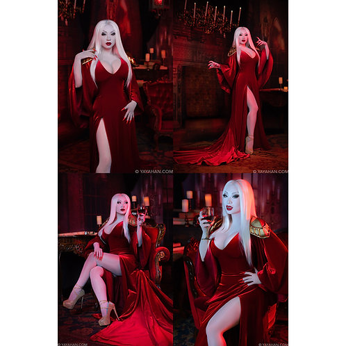 Set of 4 Signed Posters/Prints - Vampire Queen