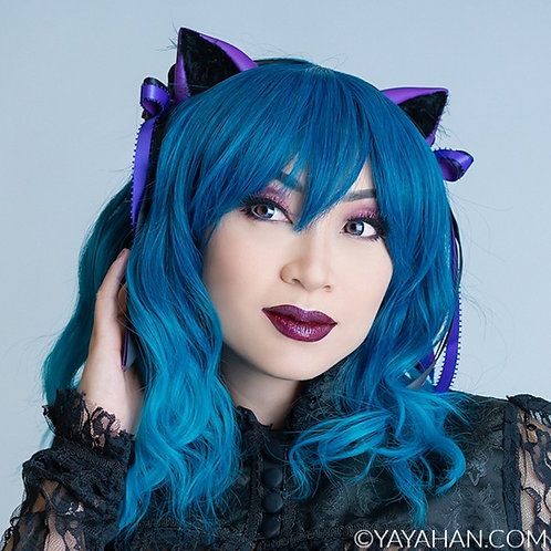 Colorful Cat Ears - Embellished