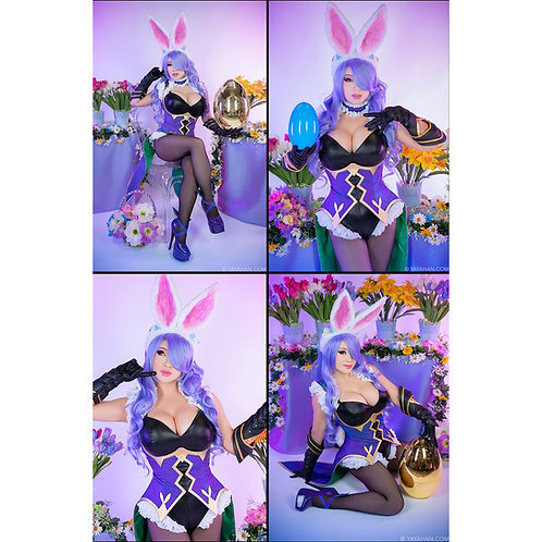 Set of 4 Signed Posters/Prints - Camilla Bunny