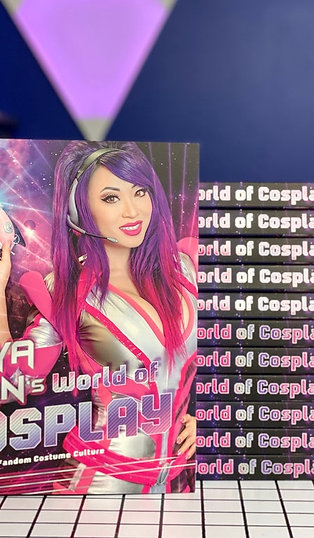 "SIGNED BOOK ""Yaya Han's World of Cosplay"" + bonus signed print!"