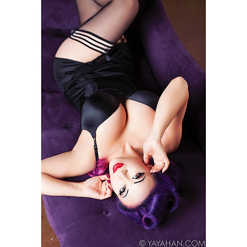 Signed Print - Lingerie Pin Up