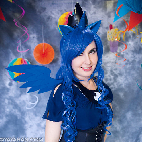 Mixed Blue Wig