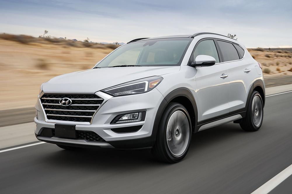 Hyundai Tuscan Face Lifted
