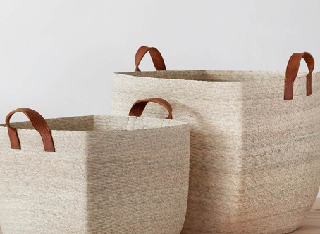 STORAGE BASKETS, FOR MORE THAN JUST STORAGE