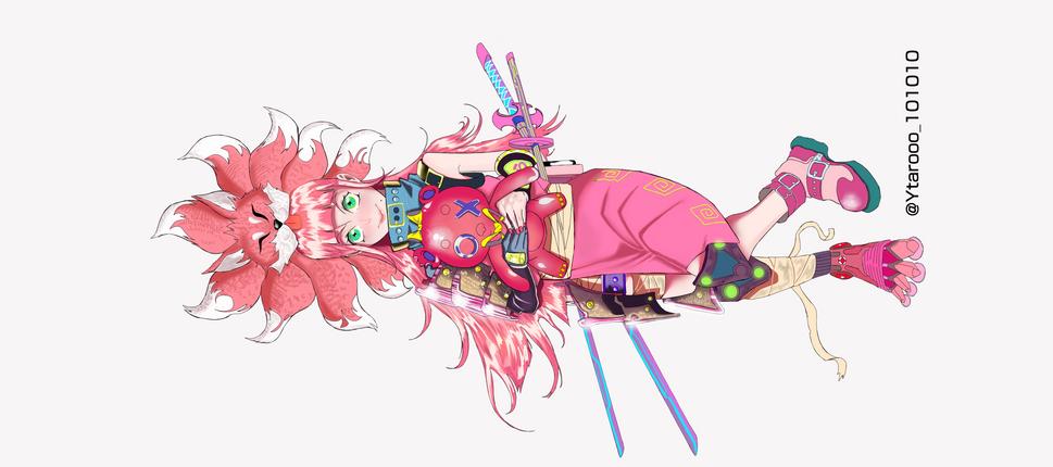 'Pink!!' por YTAROOO