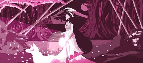 'A deusa rosa' por Mel
