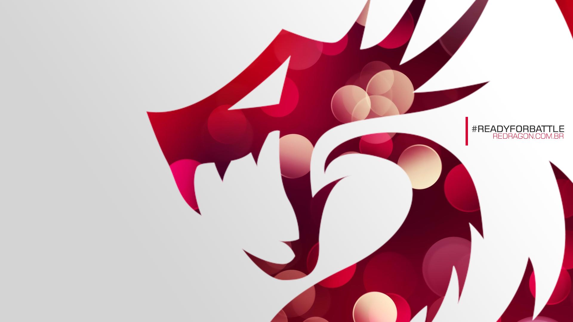 Wallpaper Redragon - Power Red