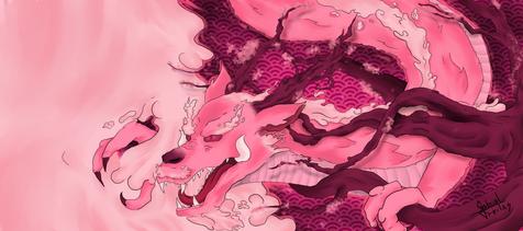 'Sakura Ryu' por GabrielReyees