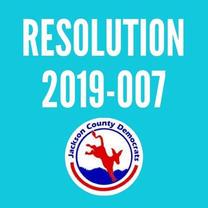 Resolution 2019-007