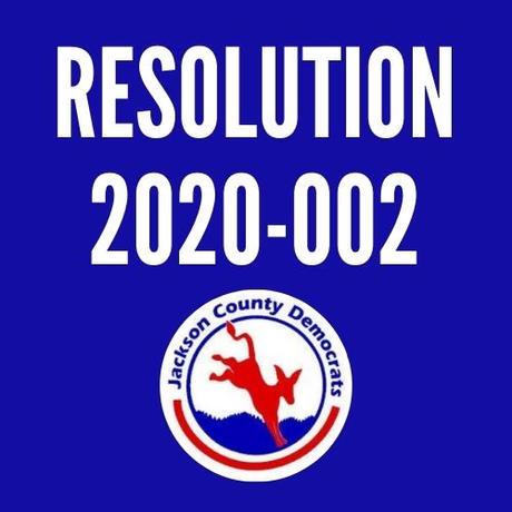 Resolution 2020-002