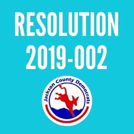 Resolution 2019-002