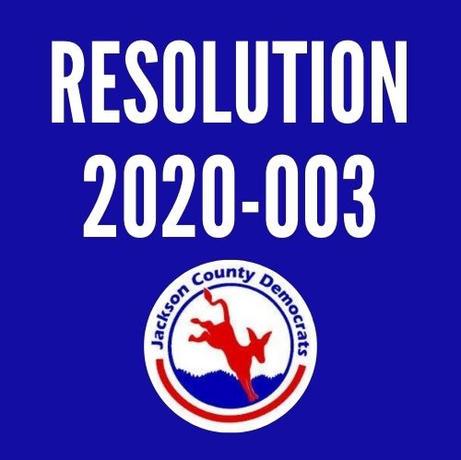 Resolution 2020-003