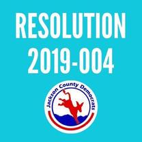 Resolution 2019-004