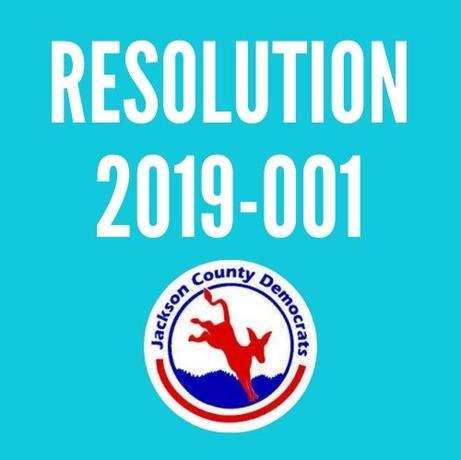 Resolution 2019-001