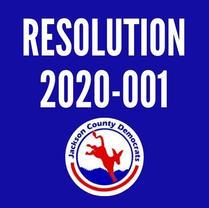 Resolution 2020-001