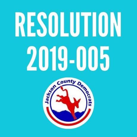 Resolution 2019-005