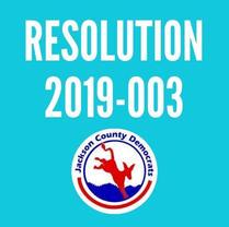 Resolution 2019-003
