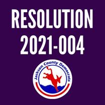 Resolution 2021-004