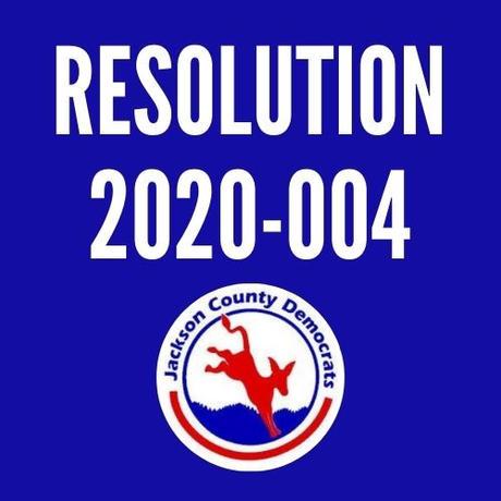 Resolution 2020-004