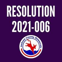 Resolution 2021-006