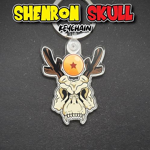 Shenron Skull Keychain