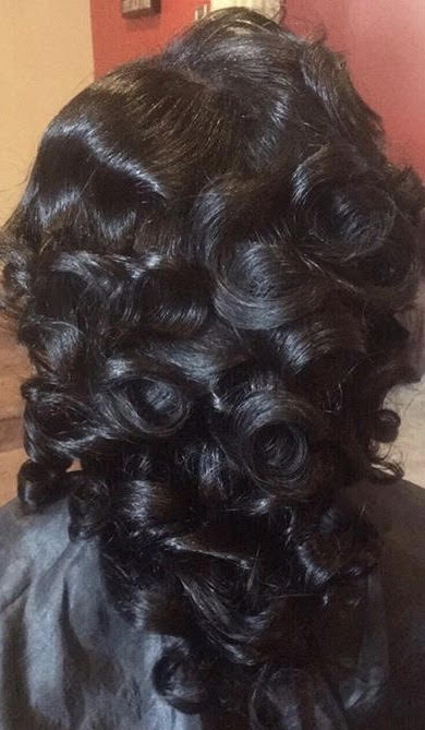 Traditional Sew-in w/Curls