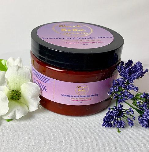 Lavender & Manuka Honey Face & Body Butter 8oz