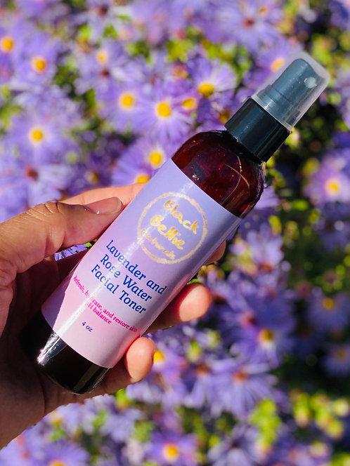 Lavender and Rose Water Facial Toner