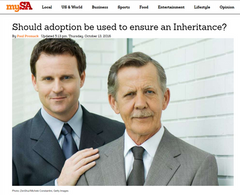 Should adoption be used to ensure an Inheritance?