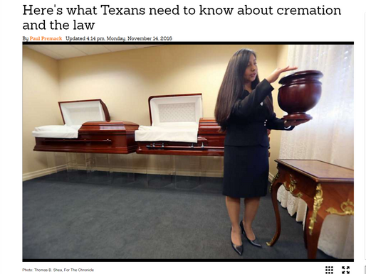 What Texans need to know about cremation and the law