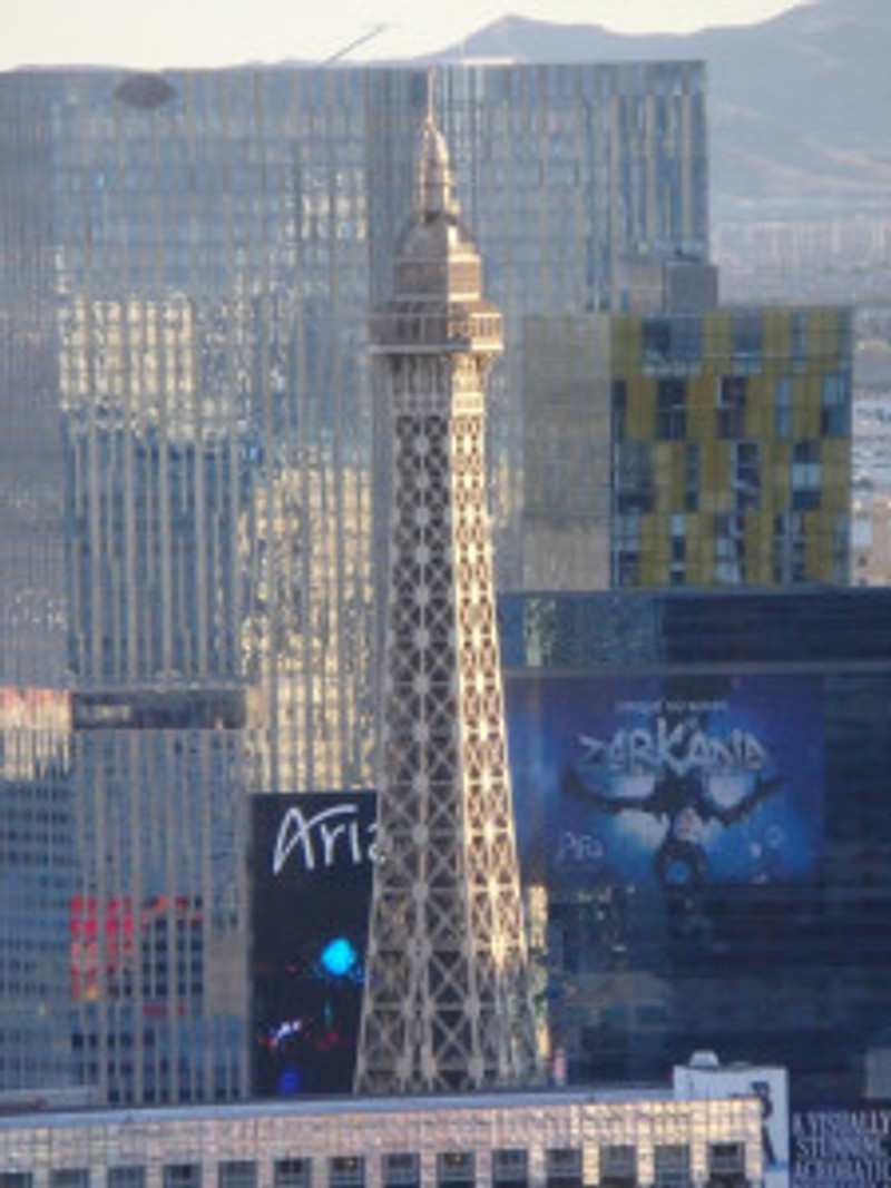 Las Vegas skyline (c) 2014 Paul Premack