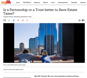 premack, estate taxes