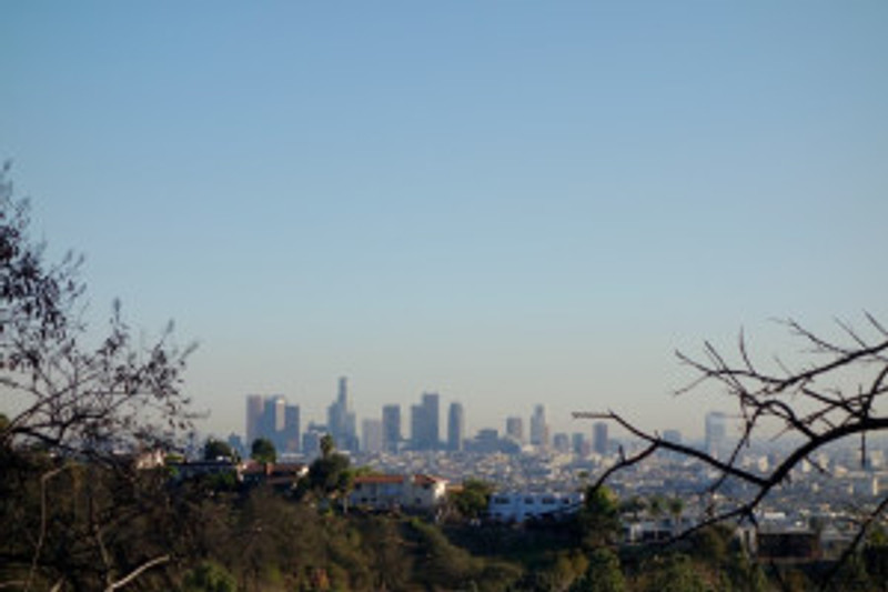 Los Angeles from the Hollywood Hills (c) 2014 Paul Premack
