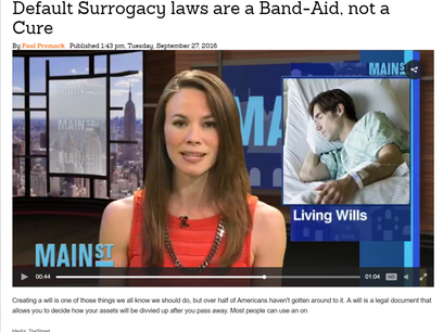 Default Surrogacy laws are a Band-Aid, not a Cure