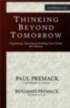 Cover, Thinking Beyond Tomorrow.JPG