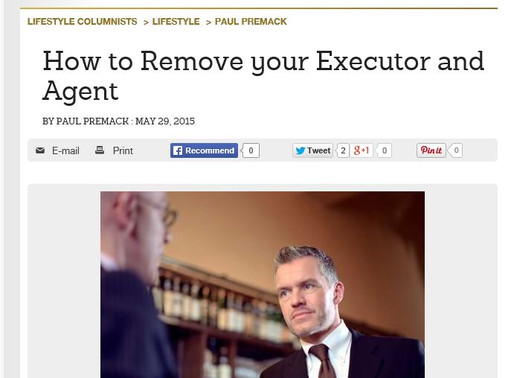 How to Remove your Executor and Agent