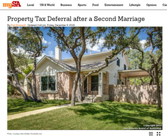 Property Tax Deferral after a Second Marriage