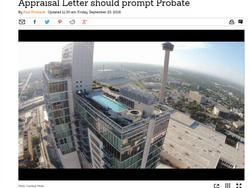 Appraisal Letter should prompt Probate